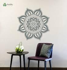 yoyoyu wall decal culture patterns wall sticker flower flora