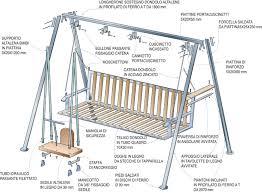 costruire sedia a dondolo dondolo altalena fai da te bricoportale fai da te e bricolage