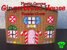 plastic canvas thanksgiving patterns plastic canvas gingerbread house toaster cover everyday parties