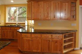 kitchen noticeable kitchen cabinets with hickory floors