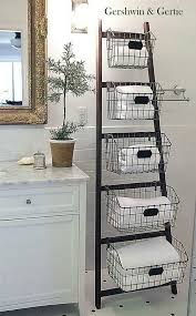 Bathroom Storage Solutions Cheap by The 25 Best Bathroom Ladder Ideas On Pinterest Bathroom Ladder