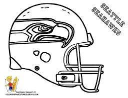 nfl team coloring pages seattle nfl coloring pages football helmet coloring page