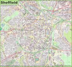 Sheffield England Map by Sheffield Maps Uk Maps Of Sheffield