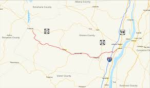 New York State Zip Code Map by New York State Route 23a Wikipedia