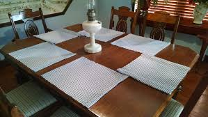 handwoven placemats lili mums gallery also dining room table