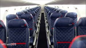 Delta Comfort Plus Seats Delta Crj900 Cabin Tour Comfort Youtube