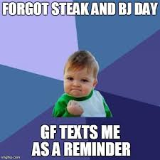 Steak And Bj Meme - i think she s a keeper album on imgur