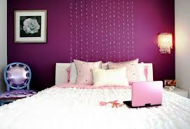 Purple Bedroom Decor by