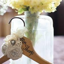 wedding dress hanger personalized bridal hanger barb designs