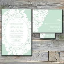 mint green wedding invites vertabox com