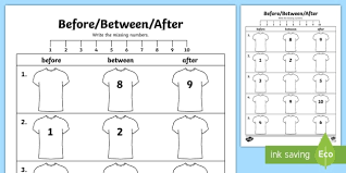 algebra extending patterns before between after activity