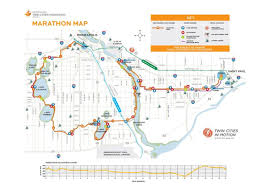 Boston Marathon Course Map by Twin Cities Marathon World U0027s Marathons