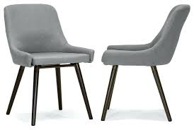 Affordable Upholstered Chairs Grey Fabric Dining Chairs Toronto Charcoal Upholstered Studded
