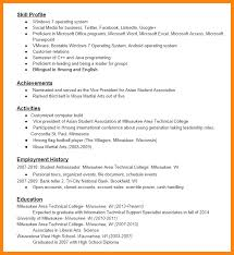 Employment History On Resume 11 Listing Certifications On Resume Emails Sample