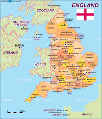 New England Maps by Geography Blog Maps Of England