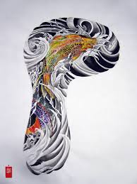 japanese full sleeve tattoo designs famous koi fish full sleeve
