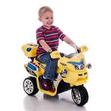new kids electric battery power fx racer motorcycle 3 wheels 6v