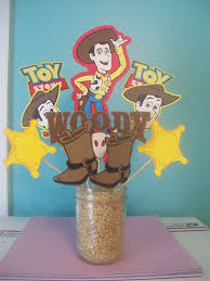 printable cowboy toy story birthday party 4 inches circle from