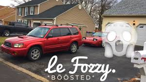 red subaru forester 2000 how to install axel on subaru forester xt youtube