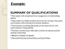 ability summary resume examples guest service representative