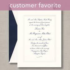 wedding invitations embossed embossed bordered warm white wedding invitations wedding