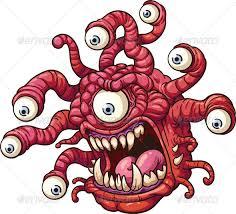 cartoon monster jquery