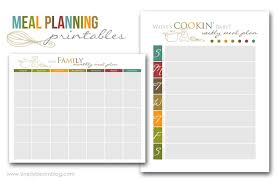printable meal planner free five fabulous free meal plan printables page 2 of 2 the taylor house