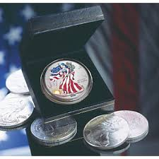Colorized American Silver Eagle From Ginnys  For Hubby - Silver eagle furniture