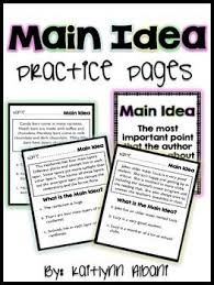 82 best main idea theme images on pinterest teaching reading