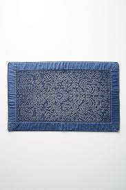 Damask Bath Rug Damask Bath Mat Anthropologie