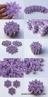 snowflakes purple frosty christmas tree decoration winter