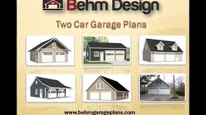 Two Car Garage Plans by How Can We Get 2 Car Garage Plans Youtube