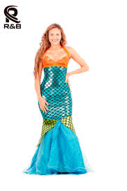 Halloween Mermaid Costume Compare Prices On Mermaid Costume Dress Online Shopping Buy Low