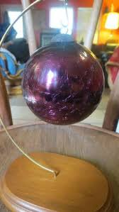 smash crackle glass ornament in all about it