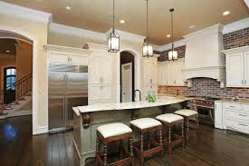 faux brick backsplash in kitchen kitchen design exciting kitchen about blue kitchen upstairs gray