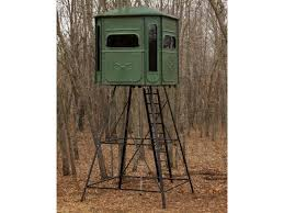 Elevated Bow Hunting Blinds Redneck Blinds Treestands U0026 Accessories Midwayusa
