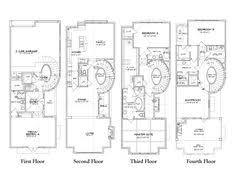 townhouse plan e3153 a3 3 ஃ ᗩ r c h pinterest