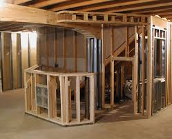 framing basement walls cost