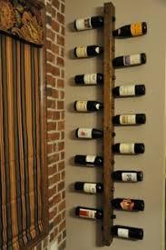 wall hanging wine rack in colorado aspen forest decor wine rack