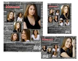 senior yearbook ad templates yearbook senior ads arc4studio