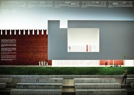 Architectural Draftsperson Winning Entries For The Red Square Tolerance Pavilion