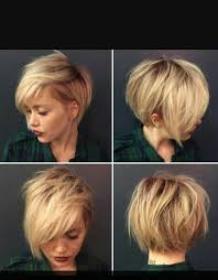 short edgy haircuts for square faces short blonde asymmetrical hair from all angels hair pinterest