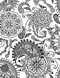 flowers paisley coloring pages paisley coloring book