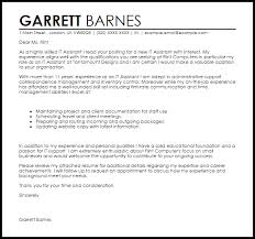 it assistant cover letter sample livecareer