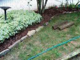 Bush Rock Garden Edging Weekend Project Sherry S Place