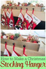 how to make a diy stocking hanger a mom u0027s take