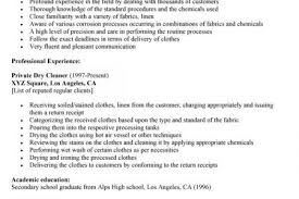 Resume Samples For Cleaning Job by Cleaning Job Description For Resume Reentrycorps
