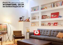 Inbuilt Bookshelf Stylish Built In Shelves Corner Shelves Of Plasterboard