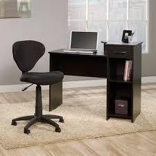 Walmart Writing Desk by Mainstays Computer Desk With Sauder Fabric Task Chair Walmart