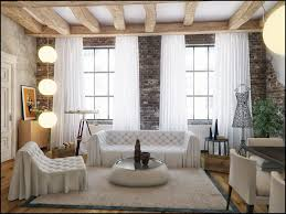 Designs For Homes Interior Living Room Classic Style Designs For The Living Room Brick Wall